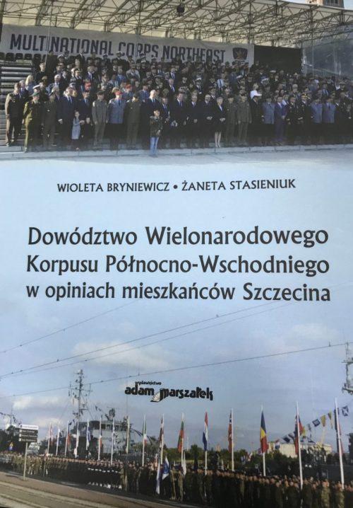 Szczecinianie o korpusie NATO – nowa monografia