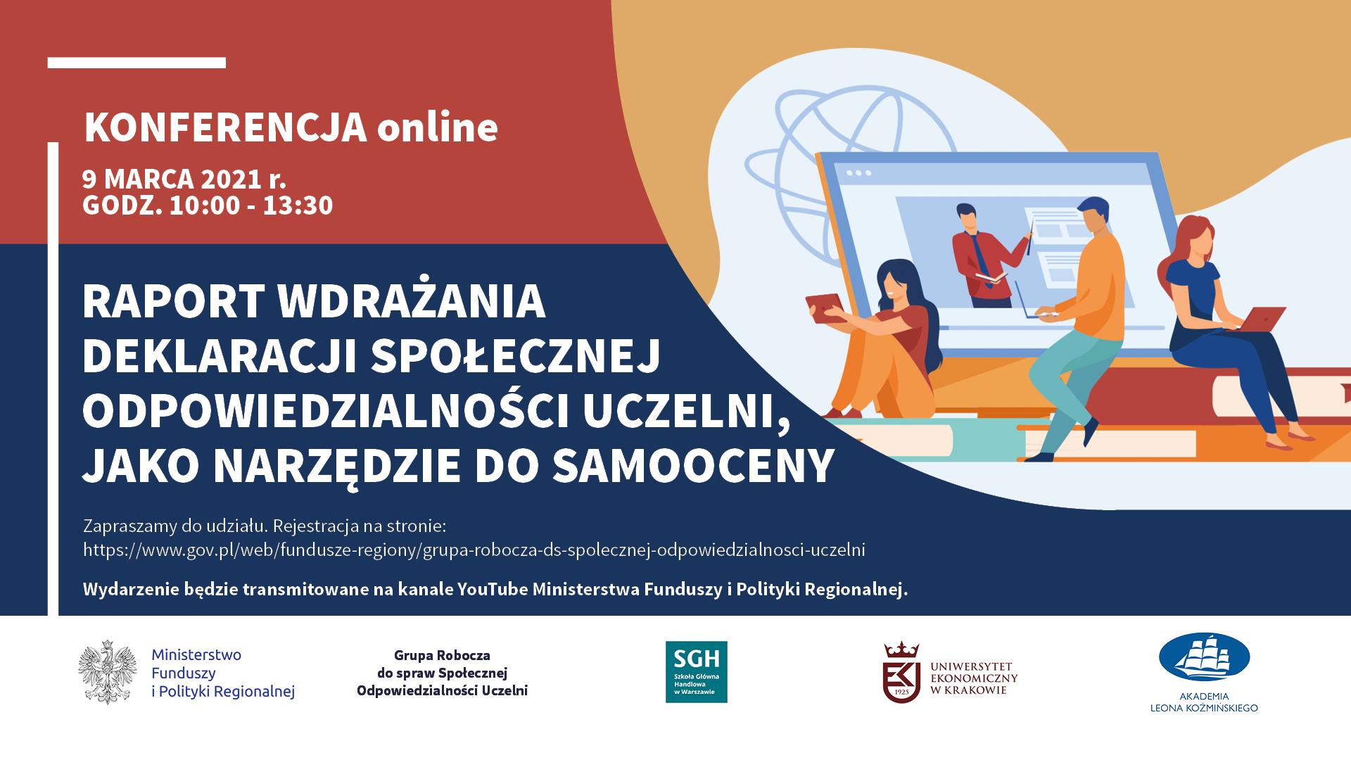 Zachęcamy do udziału w webinarium dotyczącym wdrażania deklaracji społecznej odpowiedzialności uczelni